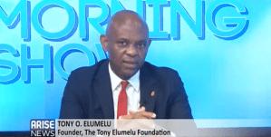 TEF Founder, Tony Elumelu Live on Arise News