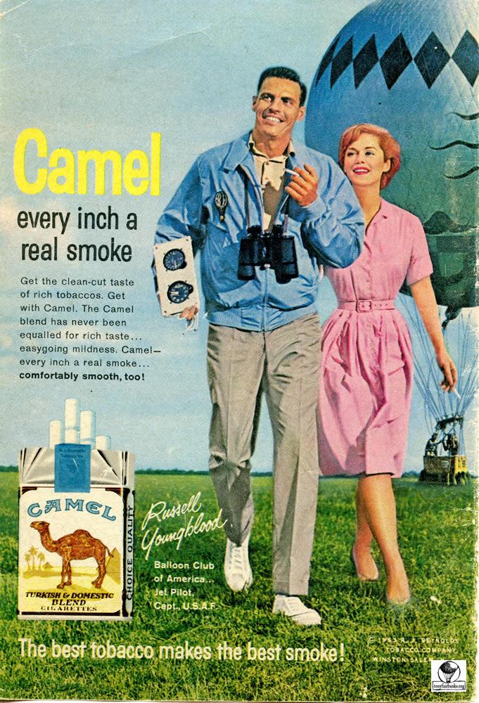 Camel Cigarettes 1963 – Tony Fairbanks