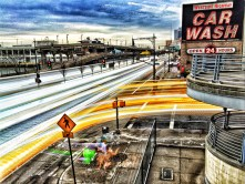 Westside Highway & Car Wash Long Exposure #2