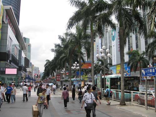 Shenzhen's Electronic Street