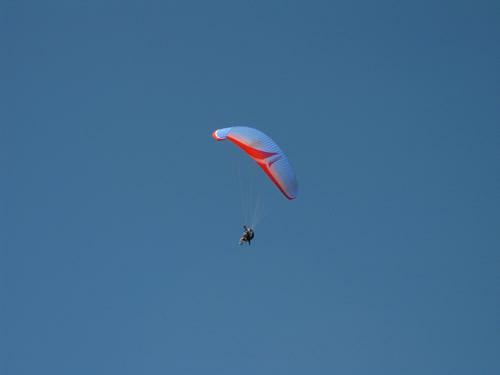 A paraglider