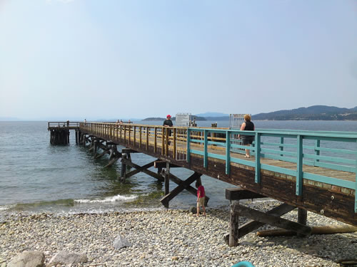 Second pier at Sechelt