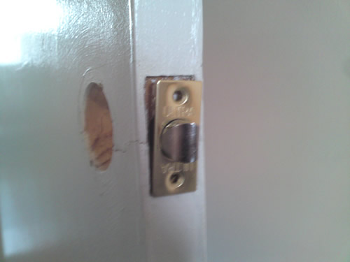 Removing the latch