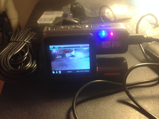 F70 Dash Cam working