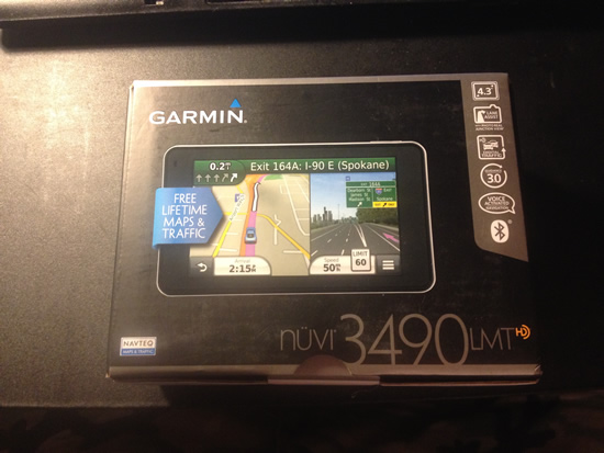 Garmin nuvi 3490LMT Box