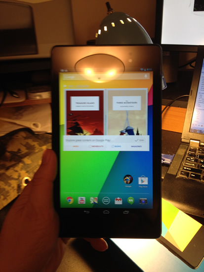 Google Nexus 7  ready