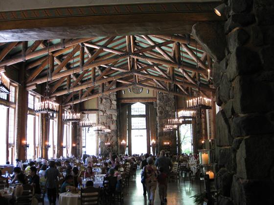 Yosemite National Park Ahwahnee Hotel