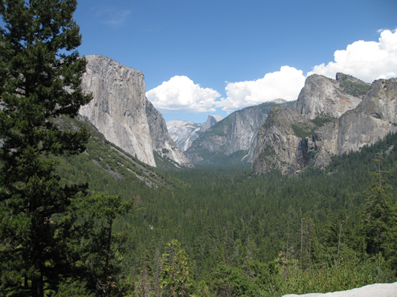 Yosemite National Park Tunnel View