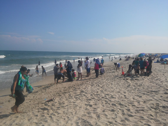 Fort Fisher State Recreation Area beach