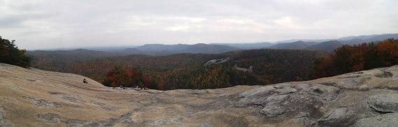 Stone Mountain top