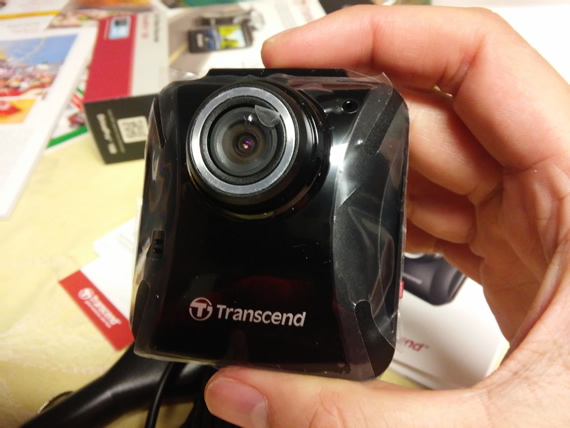 Transcend DrivePro 100 camera front