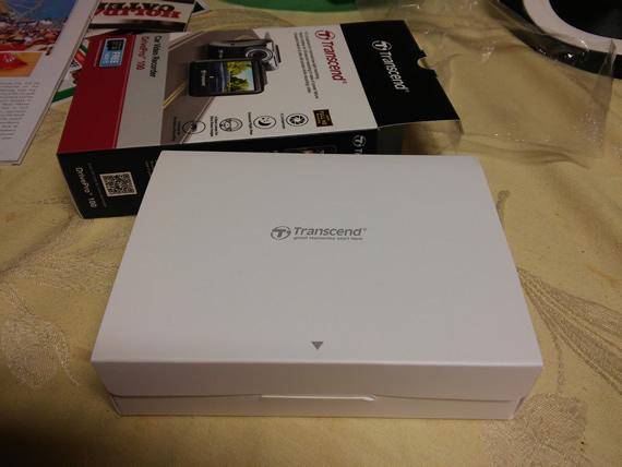 Transcend DrivePro 100 inner box