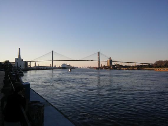 Savannah River front