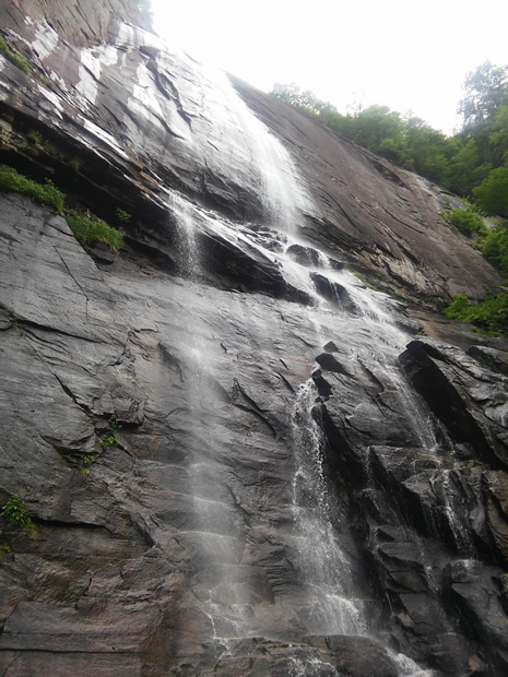 Chimney Rock State Park Hickory Nut Falls