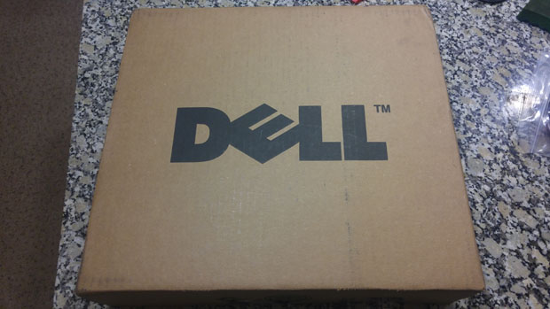 Dell brown box