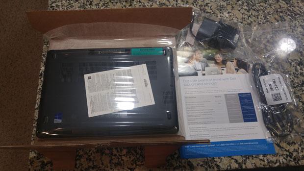 E7270 box contents