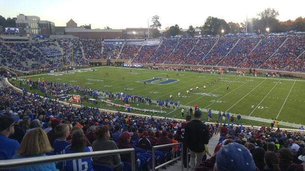 Duke vs Virginia Tech football