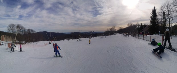Wintergreen skiing