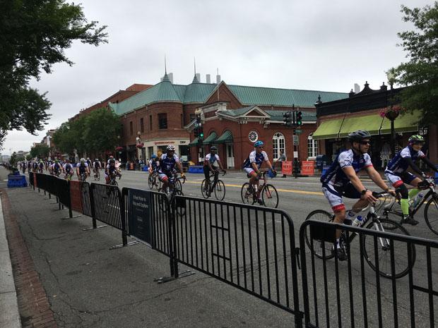 Memorial Day Georgetown bike ride