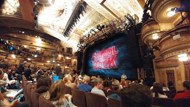 Winter Garden Theater School of Rock