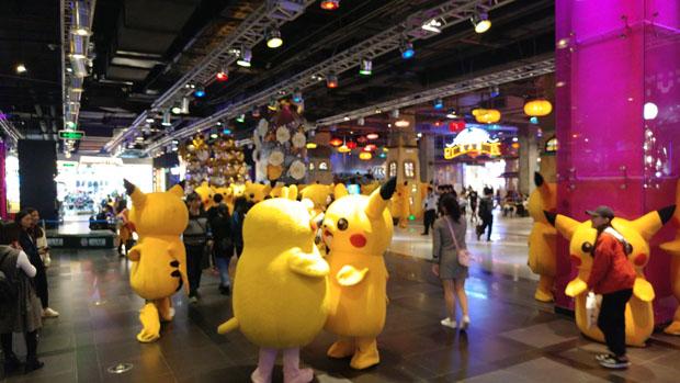 Guangzhou underground mall