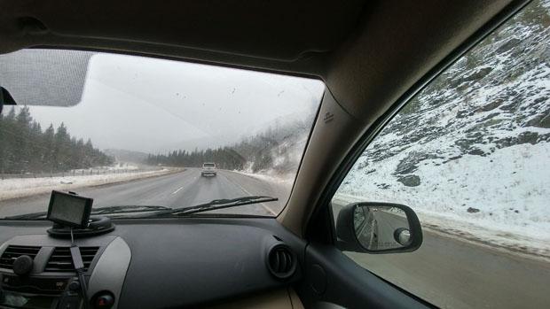 Rocky Mountains snow