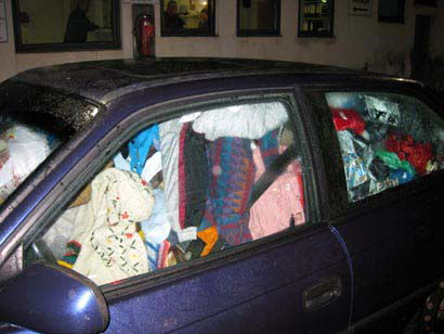 Womans Car Banned For Being Untidy