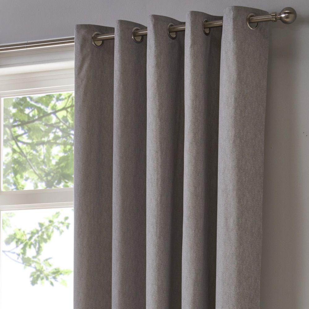 rideaux voilages sorbonne plain entierement doubles a œillets et rideaux gris naturel rose bleu jumpownia pl