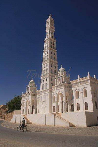 Al Muhdhar Mosque Tarim Yemen
