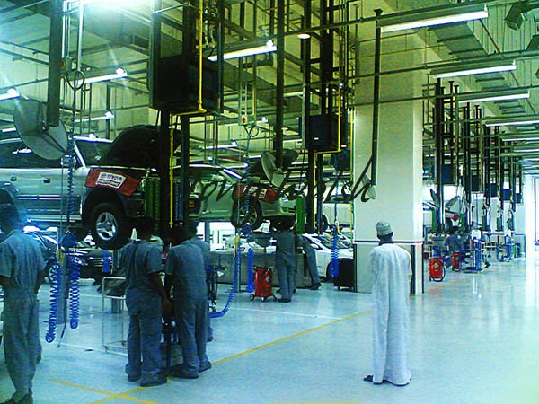 Toyota Service Facility Muscat