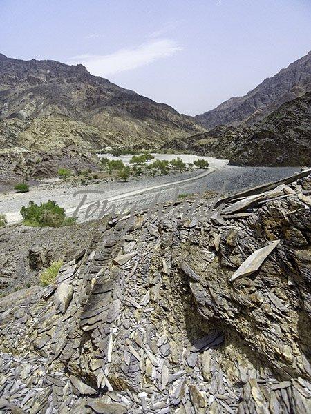 Tropic of Cancer in Oman Wadi bani Awf