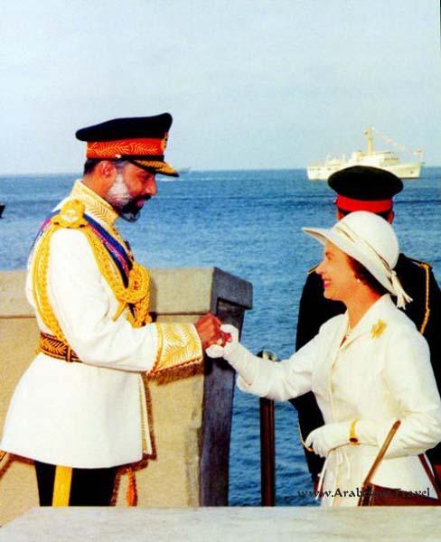 Queen Elizabeth and Sultan Qaboos