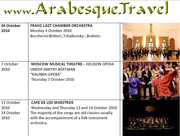 Muscat Royal Opera House Programme 2010