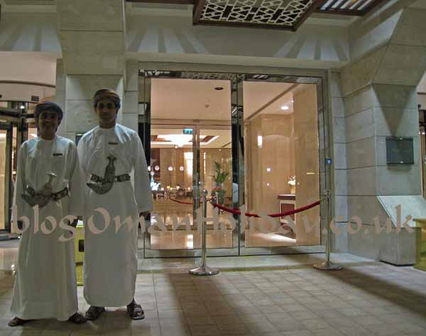 Al Bustan Doormen waiting for new management