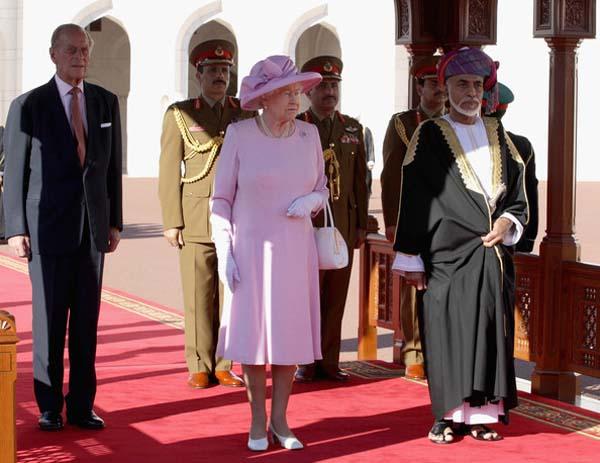 The Queen, Sultan Qaboos & Prince Phillip