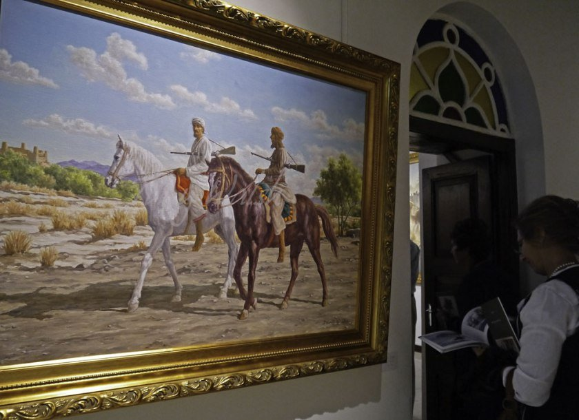 Horse Riders by David Willis Artist