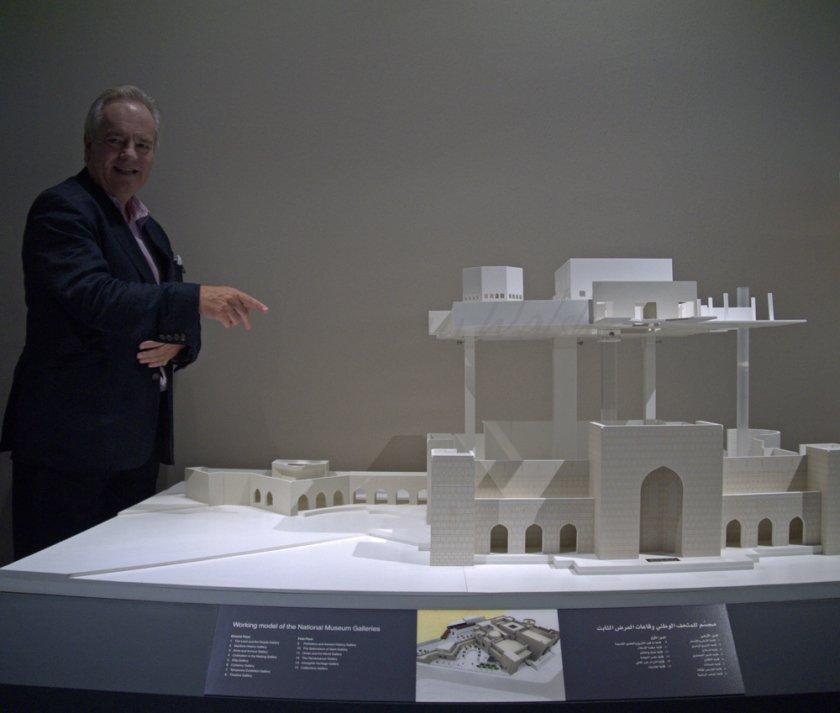 Jasper Jacob in Oman's National Museum