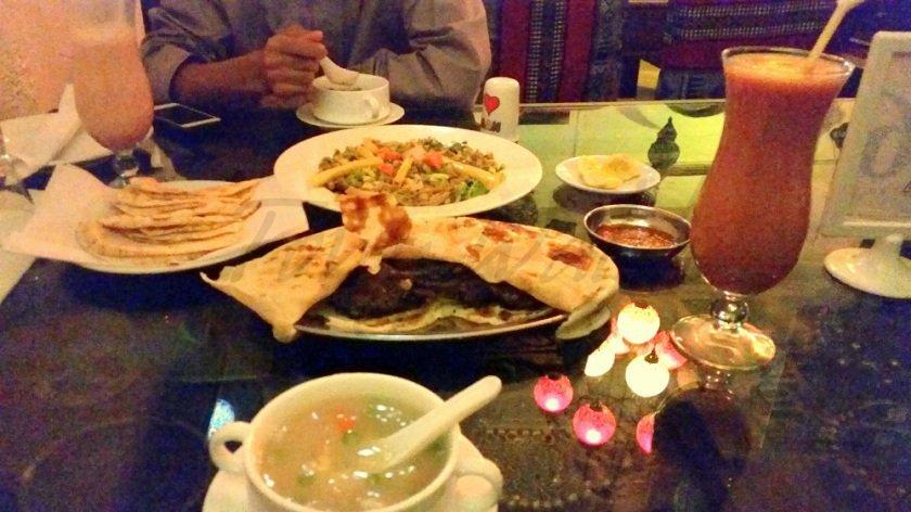 Meal at ChefA