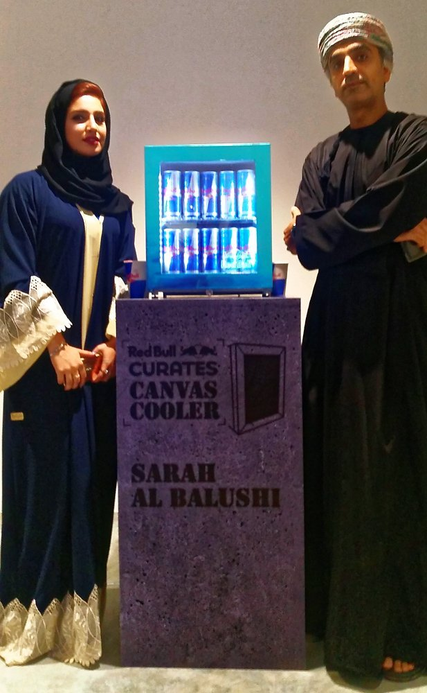 sarah al balushi hassan meer red-bull-cooler