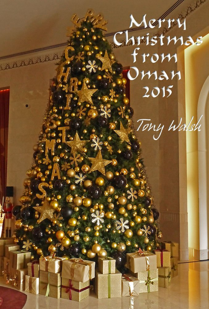 Merry Christmas from Oman 2015