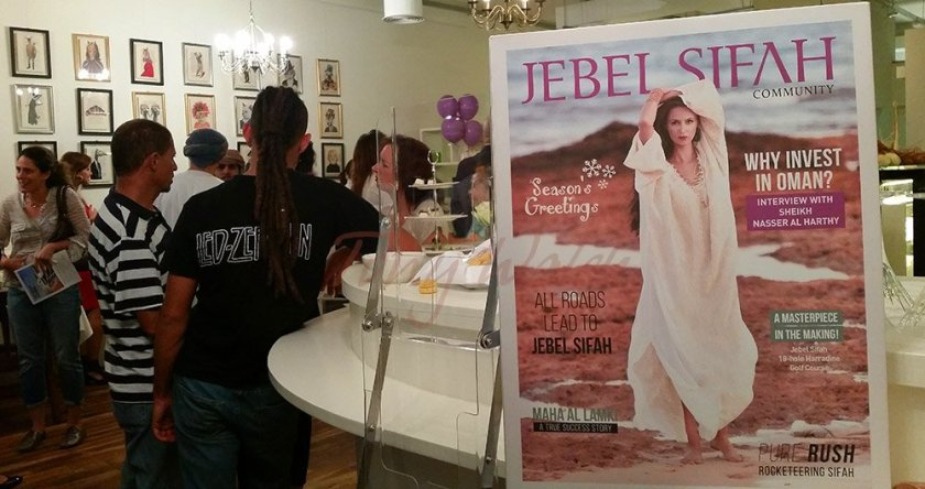 Jebel Sifah magazine launch at Crafty Kitchen