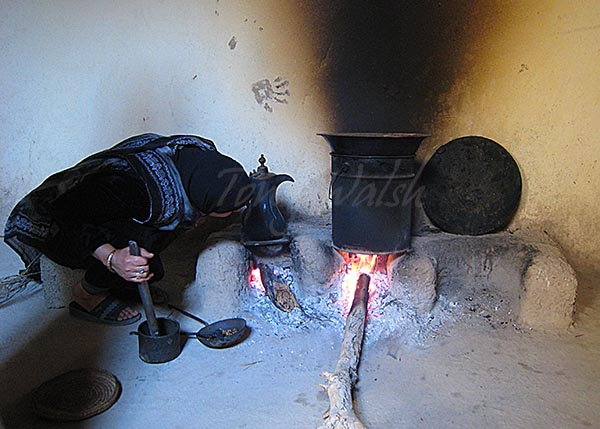 Bait Al Safa Coffee making