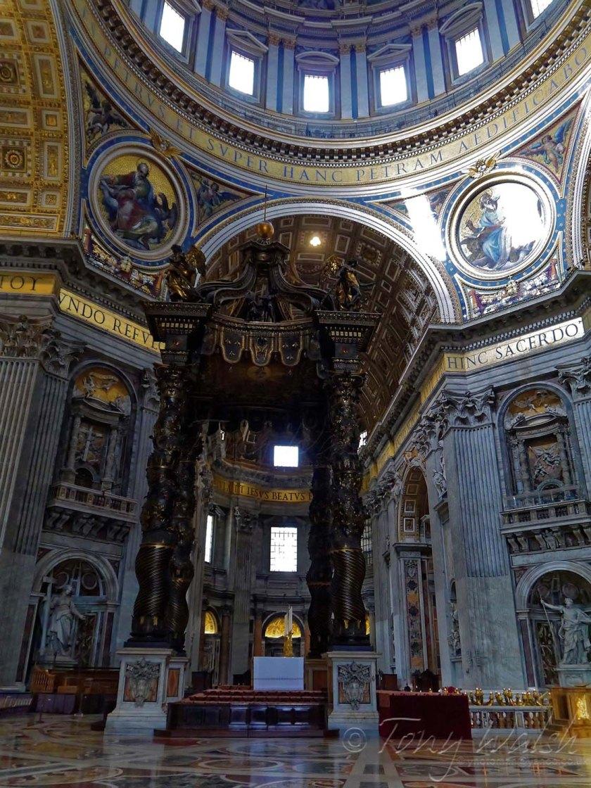 Bernini's Baldachin St Peters