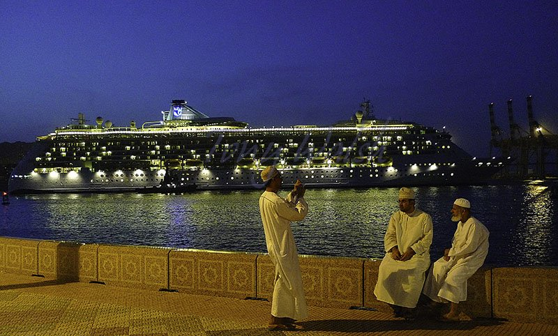 Brilliance of the Seas in Muscat