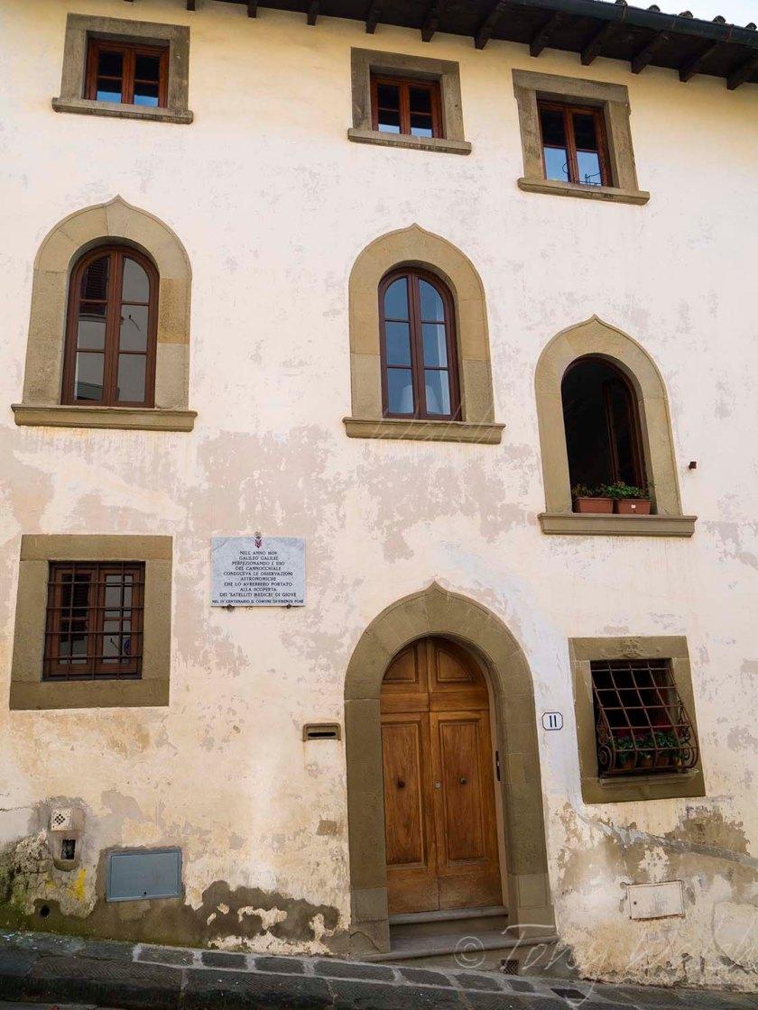 Galileo Galilei house Florence