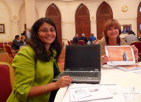 Sangita Makwana and Alison Cryer of RepresentationPlus