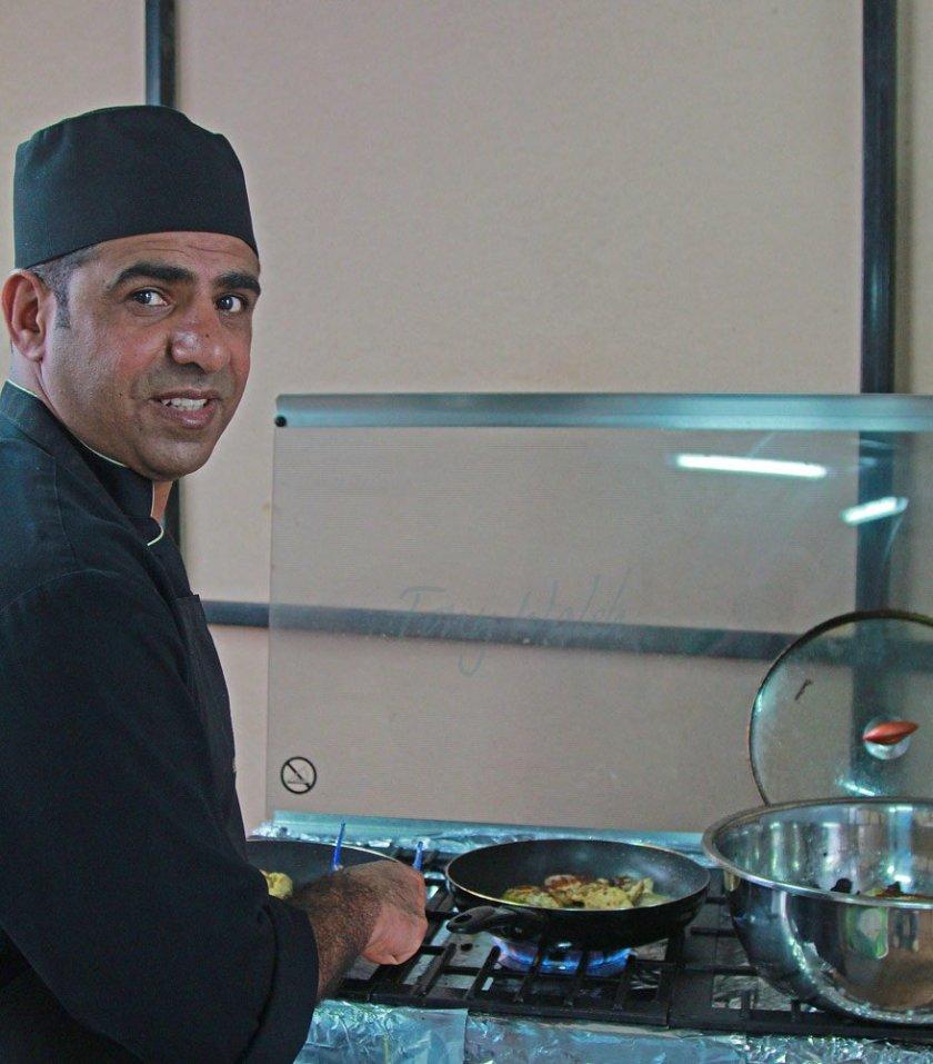 My fish snack from Badar Al Wahaibi