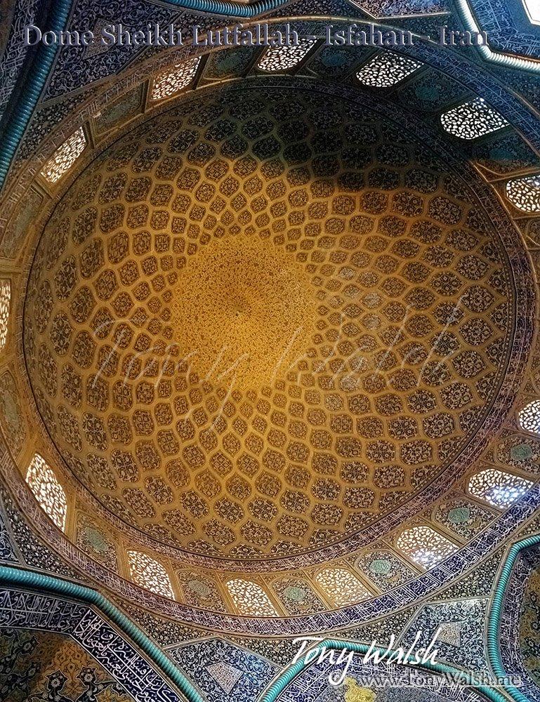 Dome Sheikh Lutfallah - Isfahan - Iran