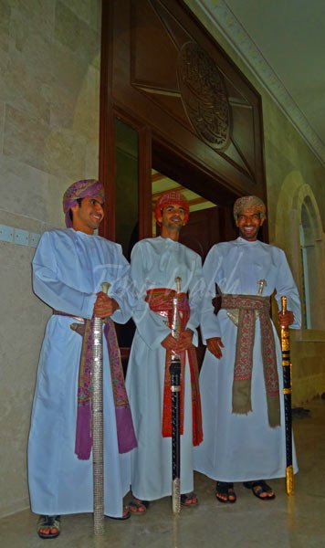 Three Omani Bridegrooms