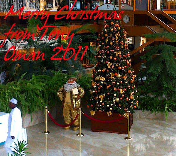 Merry Christmas 2011 & Happy New Year from Tony